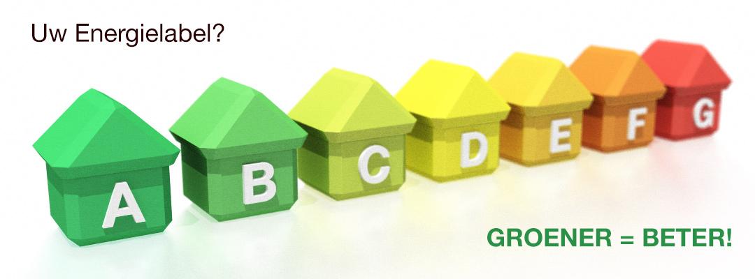 Uw Energielabel: groener is beter